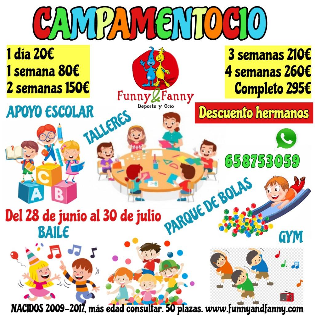 Campamento de verano en Collado Villalba Polígono P29